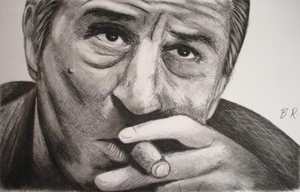 Robert De Niro par scannerdarkly